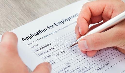 Retail vacancies at jobs fair