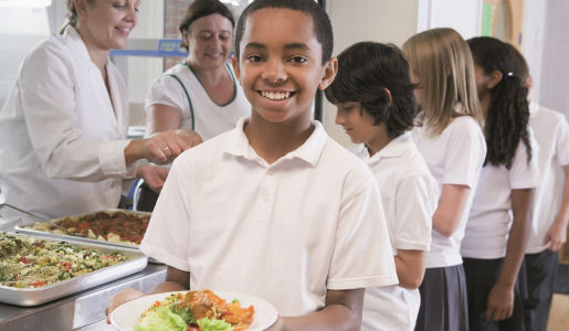 Healthier Catering award for all school menus in borough
