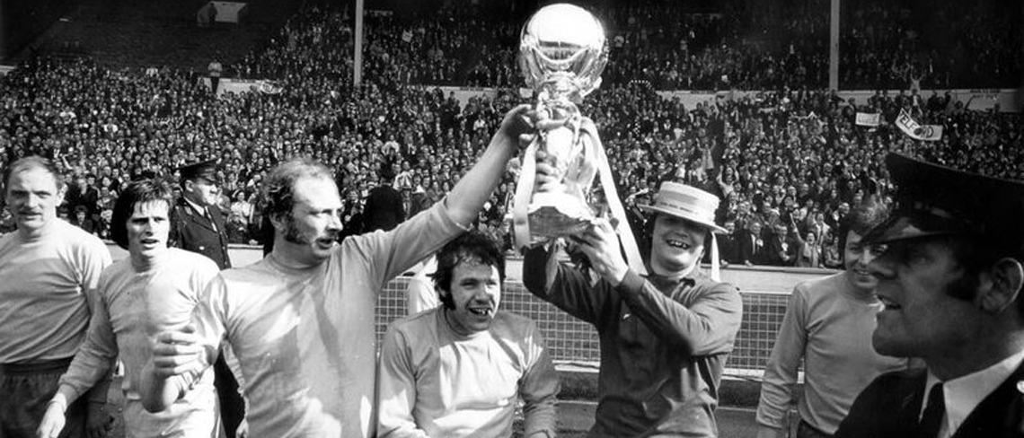 Telford United win the FA Challenge Trophy, 1971