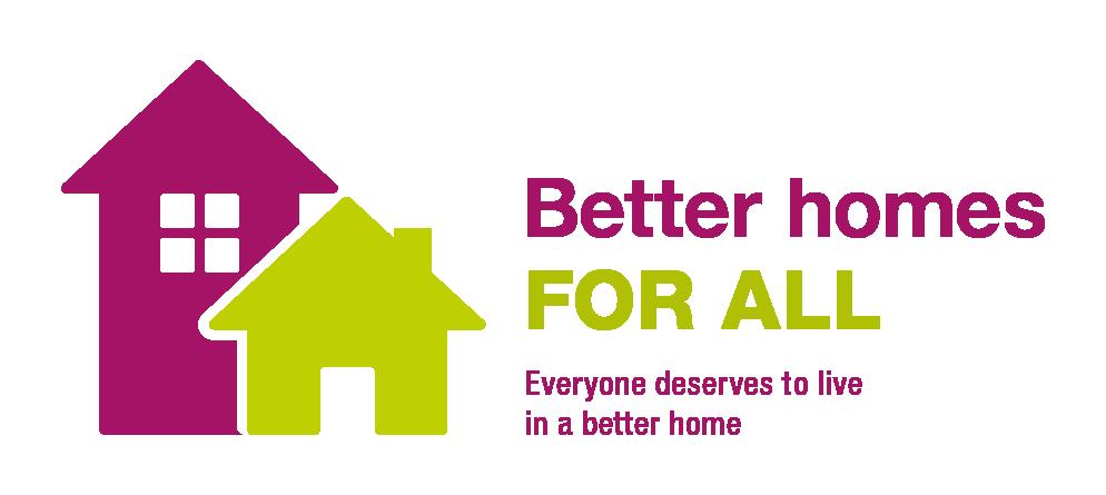 Better homes for all logo
