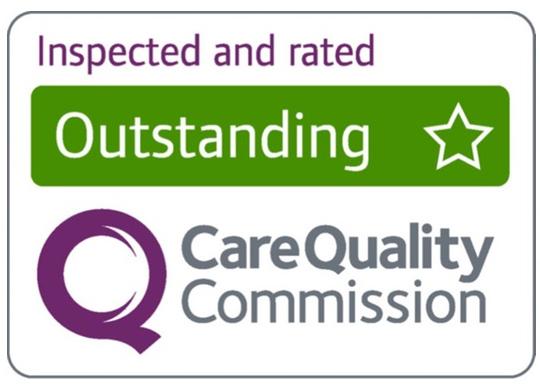 Illustration of the CQC outstanding award logo