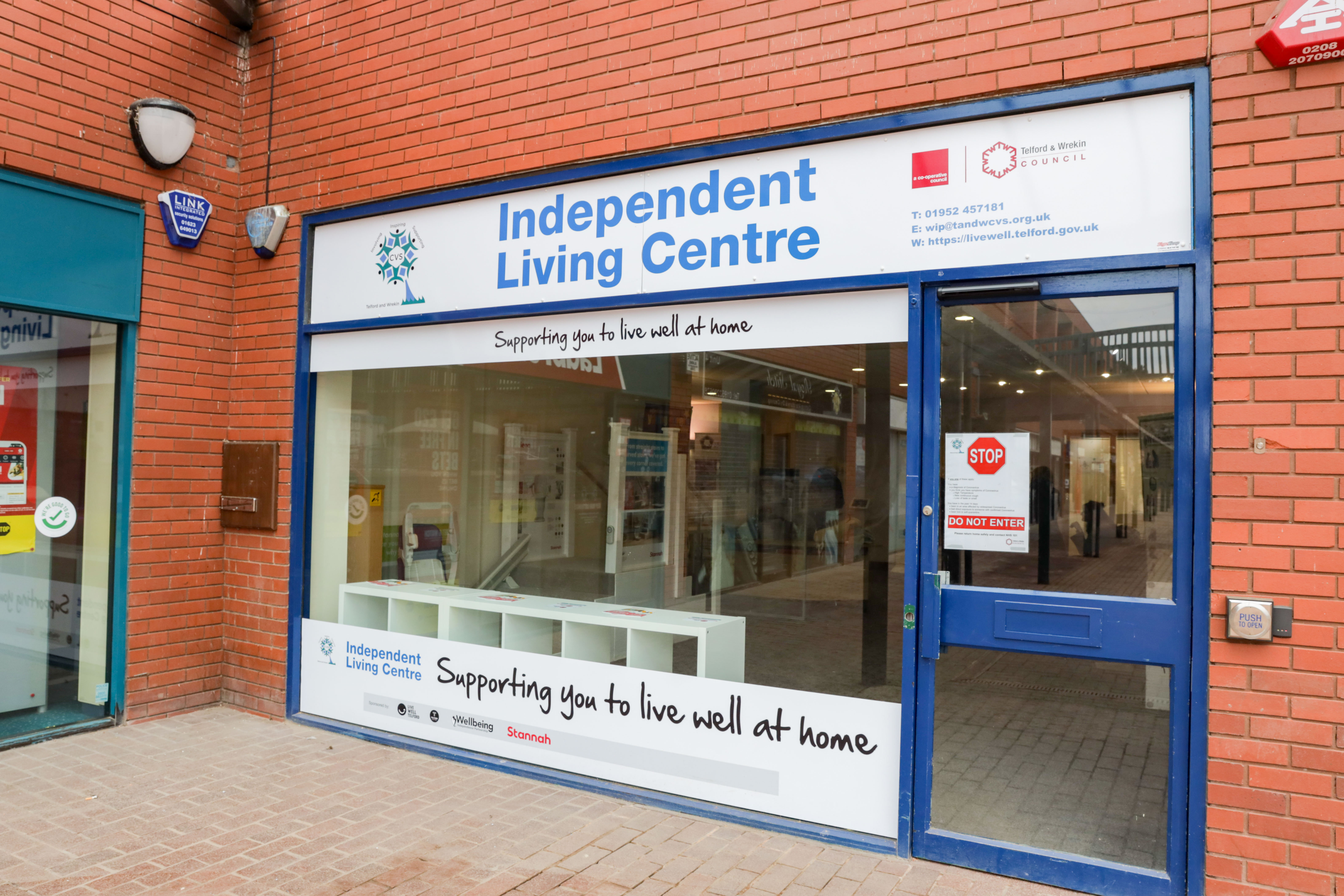 Image of the entrance to the Independent Living Centre (ILC),