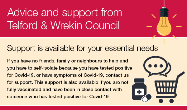 Advice and support about COVID-19 banner