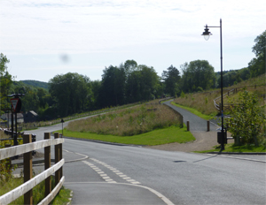 Jackfield post scheme works picture