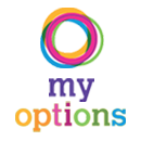 Illustration of the My Options logo