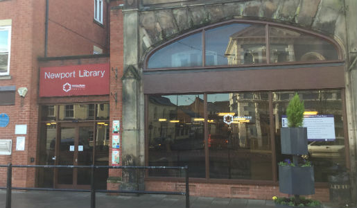 Newport Library and First Point saved from closure