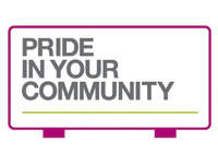 Pride in Your Community logo