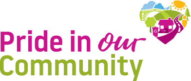 Pride in Our Community logo