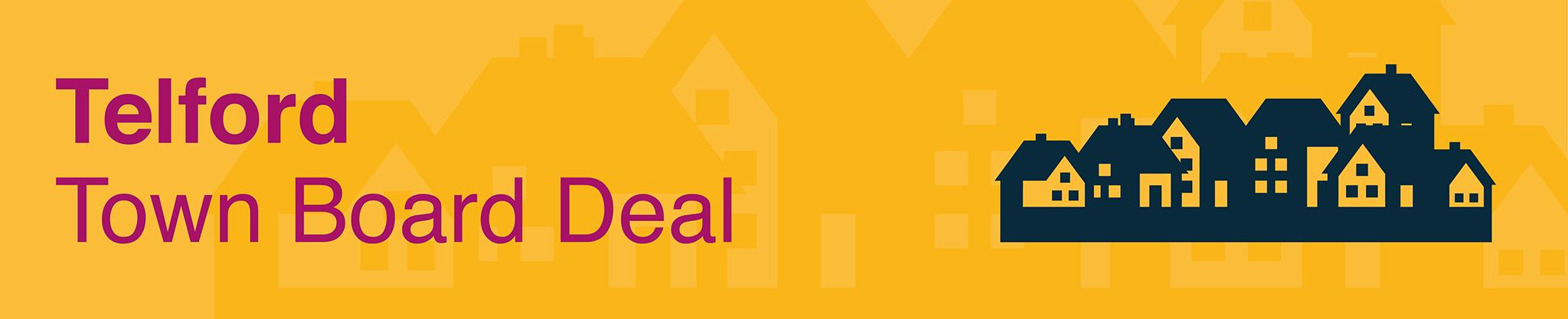 Telford Town Deal Board header