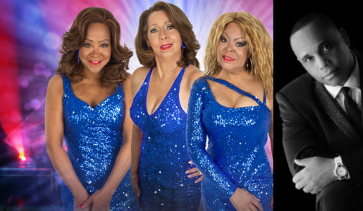 The Three Degrees and Richie Sampson