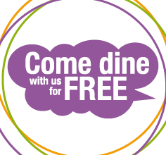 Free shcool meals graphic