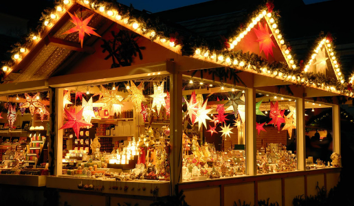Image of the Telford Christmas Market