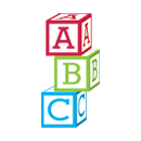 Illustration of building blocks with A,B and C on