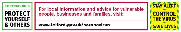 www.telford.gov.uk/coronavirus