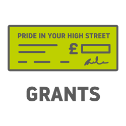 Pride in our high street grants icon