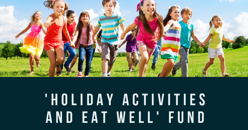 Holiday activities eat well fund logo