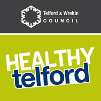 Healthy Telford campaign graphic