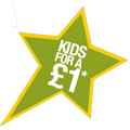 Kids for £1 holiday activities