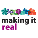 "Picture of the ""Make it Real"" logo"