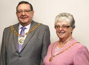 The Mayor and Mayoress of Telford & Wrekin Council