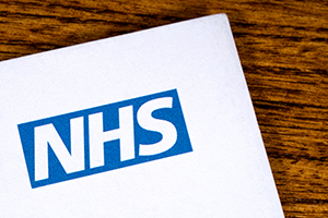 Image of the NHS logo