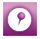 purple pointer icon
