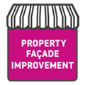 Property facade improvements