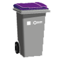 purple top bin