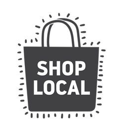 Shop local icon