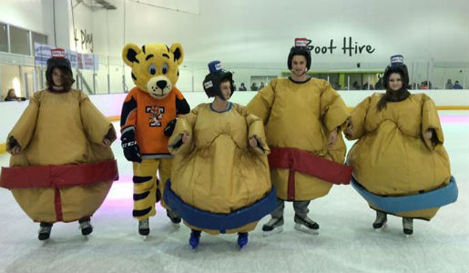 sumo suits on ice