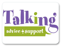Talking Advice and Support logo