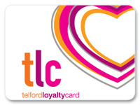 Telford Loyalty card graphic