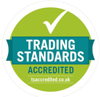 Trading Standards Accredited logo